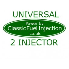 Classic Fuel Injection - Universal Complete Kit with 2 Injectors - Upto 125 BHP