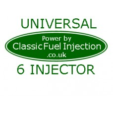 Classic Fuel Injection - Universal Complete Kit with 6 Injectors - Upto 375 BHP
