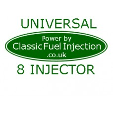 Classic Fuel Injection - Universal Complete Kit with 8 Injectors - Upto 500 BHP