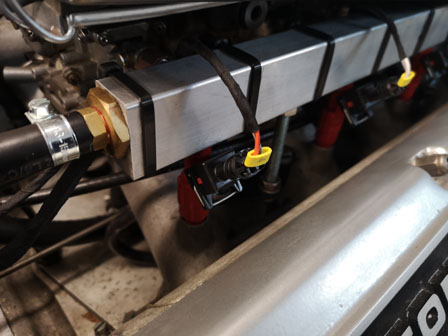 Aston Martin Fuel Injection Conversion