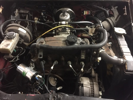 mini austin rover fuel injection conversion