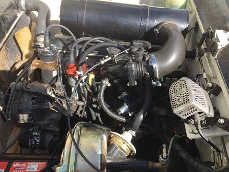 Peugeot 404 fuel injection conversion