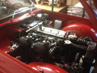 triumph tr4 fuel injection conversion